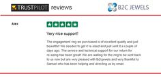 B2C Jewels Review on Trust Pilot by Alex