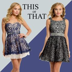 Camille La Vie Short Homecoming Party Dresses