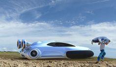 Modern Hovercraft Concept - My Modern Met