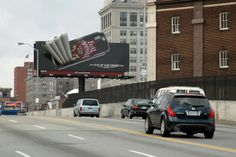 Coca-Cola introduced its energy drink brand, Full Throttle, in 2004 with this smokin' board in Baltimore. Pushing Boundaries, Full Throttle, Energy Drinks, Baltimore, Coca Cola, Board, Coke, Cola, Planks