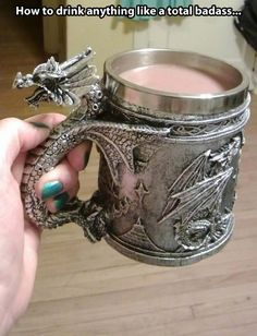 My cocoa is warmed by dragon fire. I only have one question. Where can i get this?!?! Seriously!