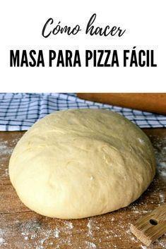 Pizza Recipes, Cooking Recipes, Healthy Recipes, Italian Recipes, Mexican Food Recipes, Easy Pizza Dough, Tasty, Yummy Food, How To Make Pizza