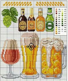 Thrilling Designing Your Own Cross Stitch Embroidery Patterns Ideas. Exhilarating Designing Your Own Cross Stitch Embroidery Patterns Ideas. Cross Stitch Kitchen, Just Cross Stitch, Cross Stitch Needles, Cross Stitch Charts, Counted Cross Stitch Patterns, Cross Stitch Designs, Cross Stitch Embroidery, Beading Patterns, Embroidery Patterns