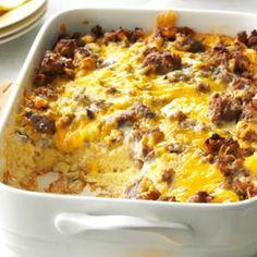 Overnight Egg Casserole Recipe photo by Drop of Home