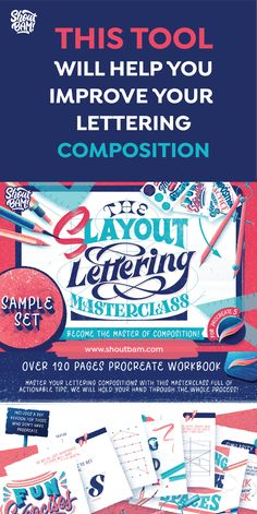 Are you struggling with lettering compositions? With this Masterclass full of actionable tips, you will master your lettering compositions and bring your lettering pieces to a whole new level.