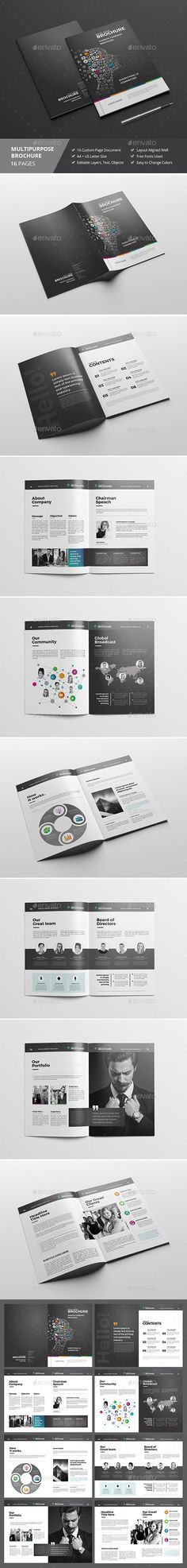 Haweya Community Brochure V02  — InDesign Template • Only available here ➝…