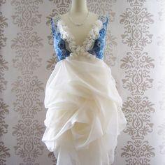 lace romantic ruffle dress