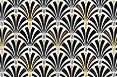 Art Deco Pattern HD Wallpaper