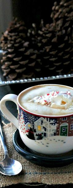 Xmas mug of hot chocolate   The House of Beccaria#