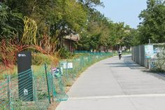The Beltline, a walking and biking path, is just one way to get around Atlanta.