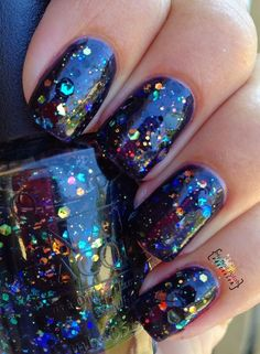 My Nail Polish Obsession: OPI Comet In The Sky-