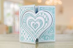 The Paisley Parade Collection features brand new shaped interlocking dies that offer more multi-use and more intricate detailing to create an extremely versatile die Christmas Booth, Paisley, Tattered Lace Cards, Hunkydory Crafts, Birthday Cards For Women, Elizabeth Craft, Shaped Cards, Die Cut Cards, Heart Cards