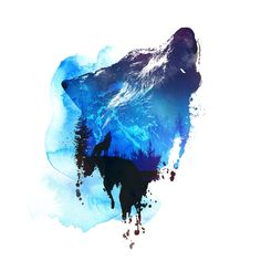 "Artist Robert Farkas,,""Alone as a Wolf"""