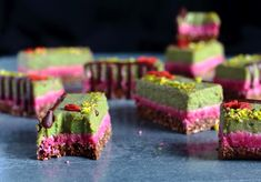 Coconut and Mint Slice