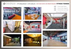 Fitness interior design by ColorOnLine Interior Design