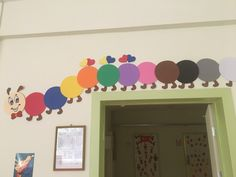 Okul öncesi renk grafiği tırtıl