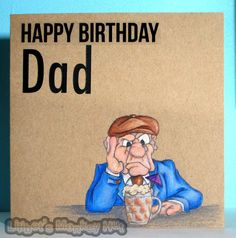Lilibet's Monkey Hut.: Happy Birthday Dad.