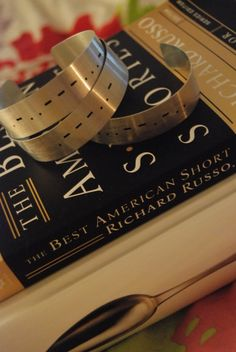 Morse Code Bracelet. $5.00, via Etsy.