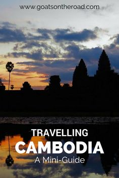 Planning a trip to Cambodia? This mini-guide has budget, accommodation and must-sees for a trip to Cambodia! There's something for everyone in this amazing