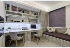 鄉村風書房 Study Room Design, Design Case, Room Colors, Office Desk, Corner Desk, Furniture, Home Decor, Corner Table, Desk Office