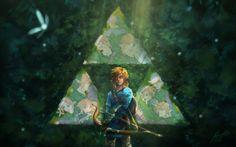 Legend Of Zelda Posters Prints - Breath Of The Wild ...