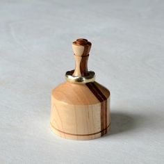 Ring Holder Bubinga Wood Wood Turning By Bobby Haymore