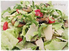 Rezepte mit Herz ♥: Vapiano Salat mit Rucola Dressing