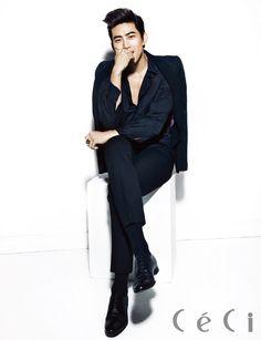 2PM Taecyeon - Ceci Magazine December Issue '13