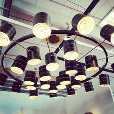 hypnotic chandelier @mercanteinfiera_parma #vintagedesign #modernfurniture padiglione 6 standH6 fino al 9 ottobre