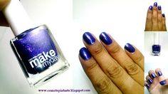 ¿Nos conocemos? Esmaltes Make my day #swatches #nails #uñas #comotepintaste #esmaltes #polish #violeta #makemyday #violet