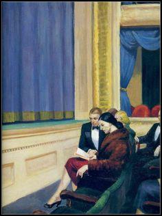 Edward Hopper - Premier rang (1951) - detail