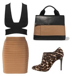 """""""Untitled #1072"""" by braguetto99 ❤ liked on Polyvore featuring Lanvin, Balmain and Marni"""