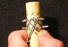 Wire Weaving Ring 04 Wire weaving ... photo tutorial for making a Turks Head knot ring