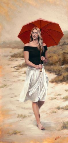 She Walks in Beauty by Daniel Del Orfano
