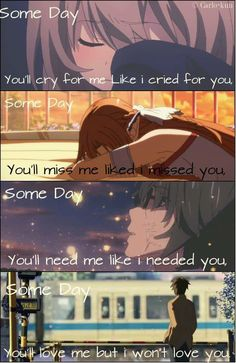 Anime :  Toradora , Sword art online ,Waiting in the summer , 5 centimeters per second