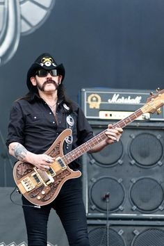 "Ian ""Lemmy"" Kilmister of Motörhead, Novarock festival, Austria Find more of my music pictures and sign up for my free newsletter: http://blog.matthiashombauer.com/"