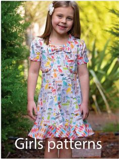 Felicity Sewing Patterns, PDF Sewing Patterns for Children. Original pattern designs for babies, toddlers and children. Modern, vintage and classic styles --- Felicity Sewing Patterns.