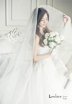 The most popular wedding photo and wedding scene in Korea because of Jun Ju Hyun's wedding in Korea