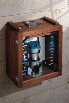 Router Case and Portable Router Table