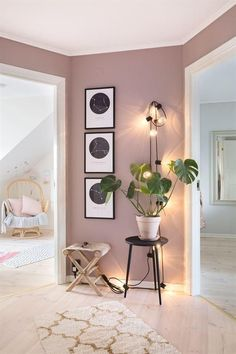 The renovation of a house in pastel colors - PLANETE DECO .- Die Renovierung eines Hauses in Pastellfarben – PLANETE DECO eine Wohnwelt – The renovation of a house in pastel colors – PLANETE DECO a living environment – colors - Interior Design Living Room, Living Room Designs, Home Interior Colors, Pastel Interior, Home Decor Colors, Home Decoration, Decorations, Interior Modern, House Colors