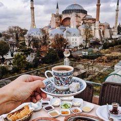 Unforgettable view from @sevenhillsrestaurant ~ Istanbul, Turkey Photo: @tiebowtie Congrats!.