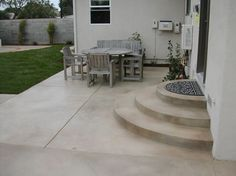 concrete porch steps | how to maintain your stamped concrete patio ... - Concrete Patio Designs Layouts