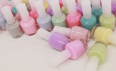 pastel nails for spring!