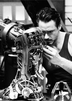 Iron man workung