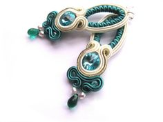Soutache earrings de M-alinki