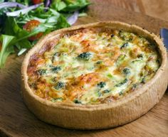 Broccoli and Stilton Quiche - Fiver Feeds Broccoli And Stilton, Broccoli Quiche, Food Hunter, Good Food, Yummy Food, Cooking Recipes, Healthy Recipes, Quiche Recipes, Winter Food