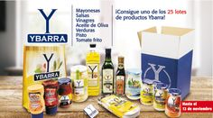 ¡25 lotes de Productos Ybarra para tu cocina!