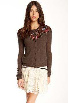 Free People | Free People Embroidered Lady Cardigan | Nordstrom Rack