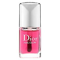 Dior : Nail Glow : nail treatments-nails-makeup>> When applied on bare nails, the pinks of the nails become pinker and the whites become whiter for a shining finish and healthy-glow effect.
