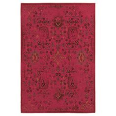 Fez Rug - Red
